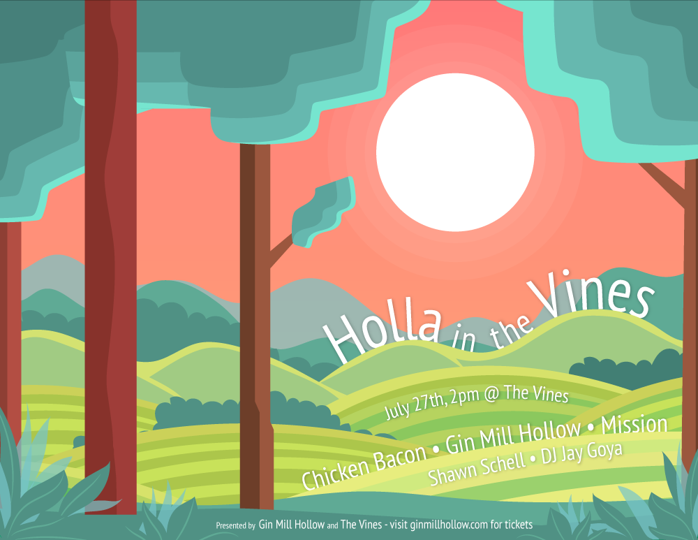 Holla in the Vines Poster